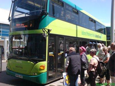 Buss på Isle of Wight
