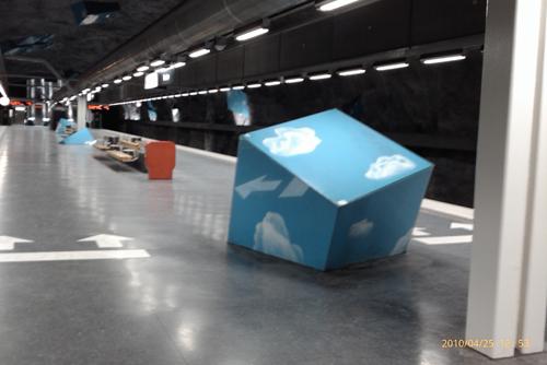 Vretens tunnelbanestation
