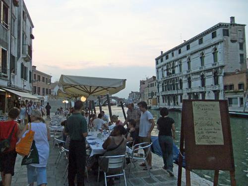 Restaurang i Venedig