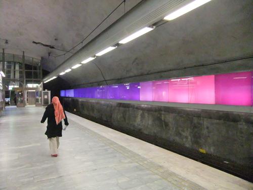 Bagarmossens tunnelbanestation