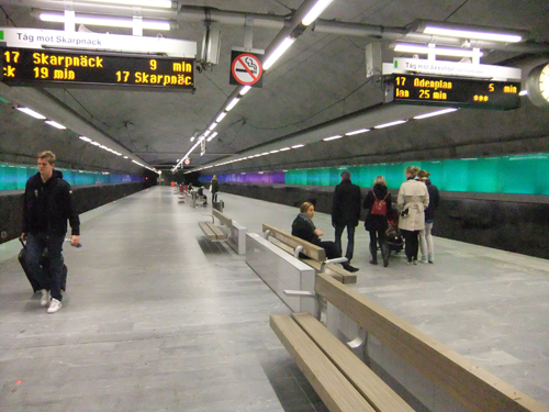 Bagarmossens tunnelbanestation