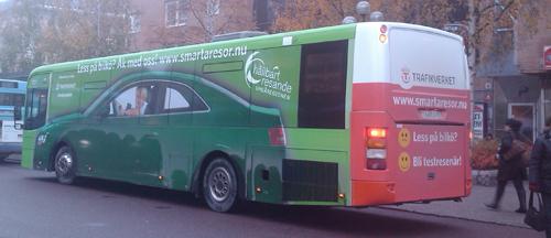 Hållbartresandebussen