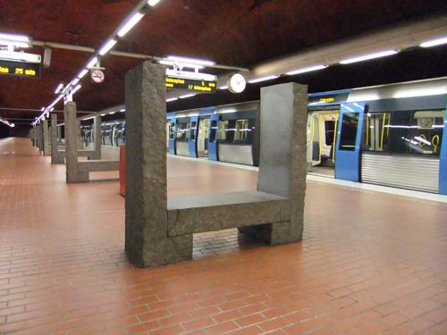 Skarpnäcks tunnelbanestation