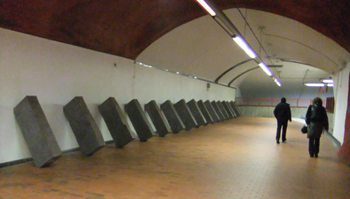 Skarpnäcks tunnelbanestation