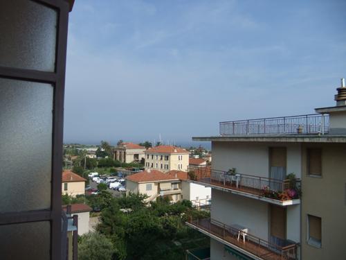 Från balkongen i Arma di Taggia