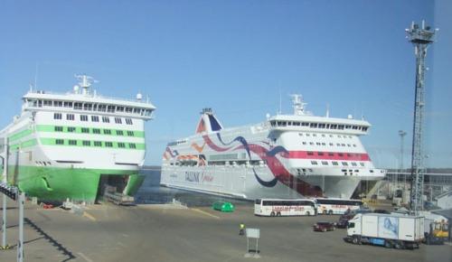 Tallin färjehamnen