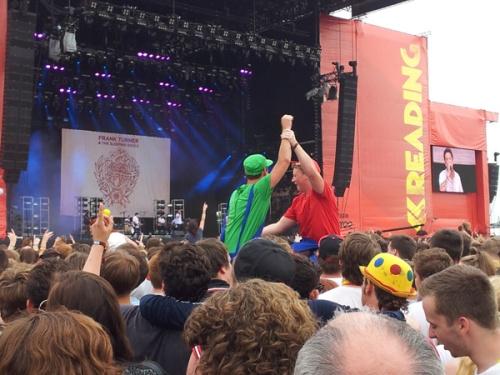 Frank Turner på Reading Festival