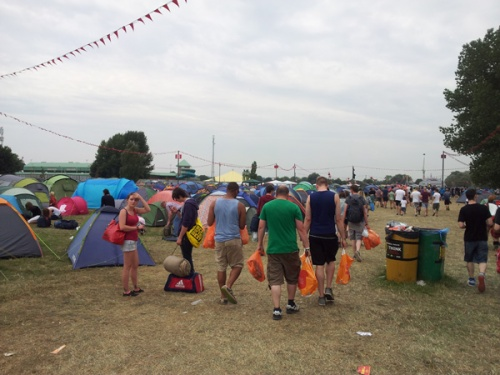 Reading Festival Red Camp